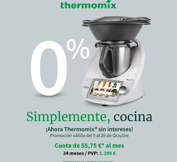 Compra Thermomix® TM6 al 0%