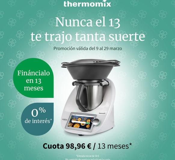 TU Thermomix® AL 0% DE INTERES EN 13 MESES