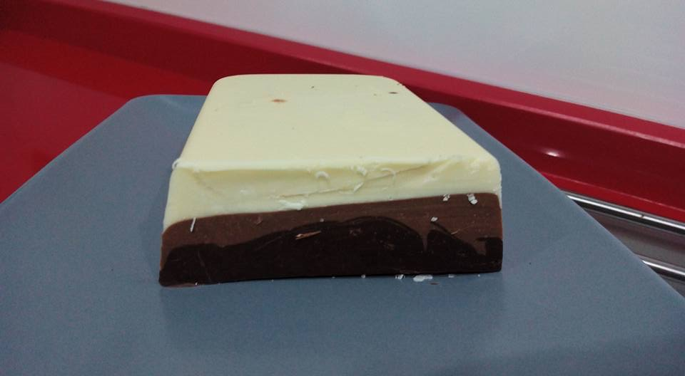 Turrón de 3 chocolates con Thermomix®