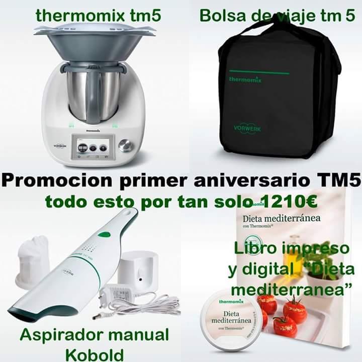EDICIÓN ESPECIAL TM5;;; 1º ANIVERSARIO CON Thermomix®