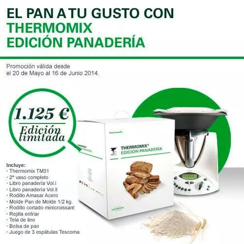 PROMOCION ESPECIAL Thermomix® EDICION PANADERIA