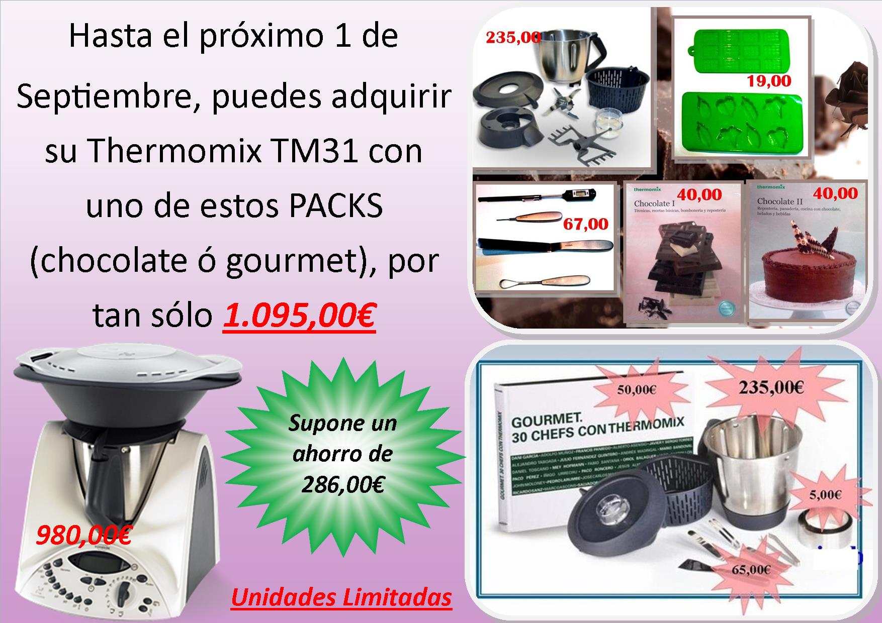PROMOCIÓN PACK CHOCOLATE - PACK GOURMET