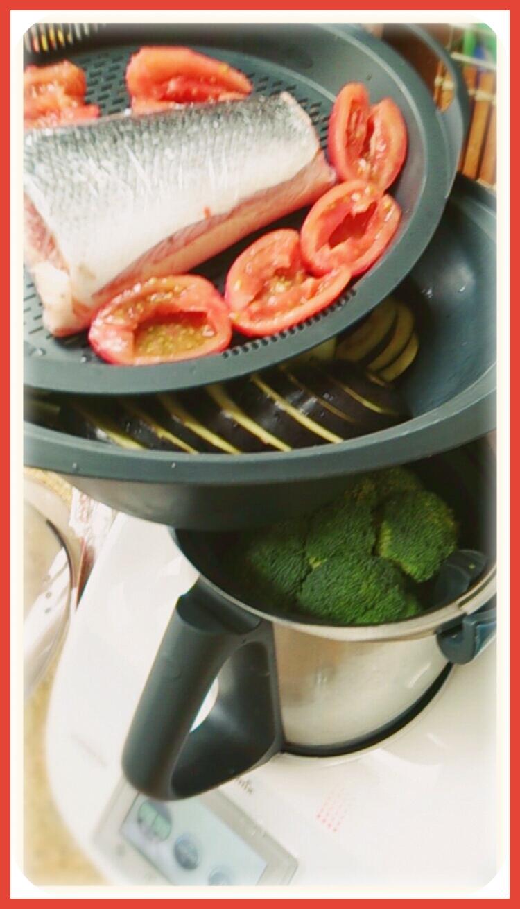 Usamos los cuatro niveles de cocción de la Thermomix®