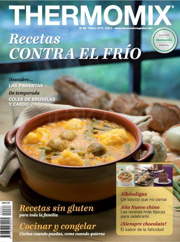 Nueva Revista de Febrero Thermomix®