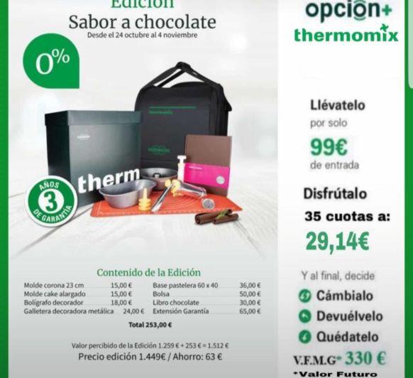 Edicion Chocolate 0% intereses
