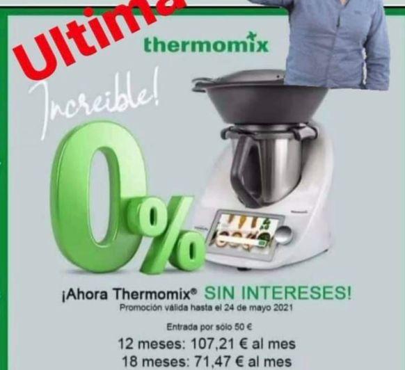 Thermomix® tm6 sin interés!!