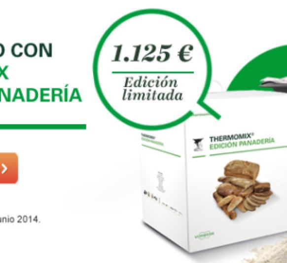 Promoción especial edición panaderia Thermomix® .