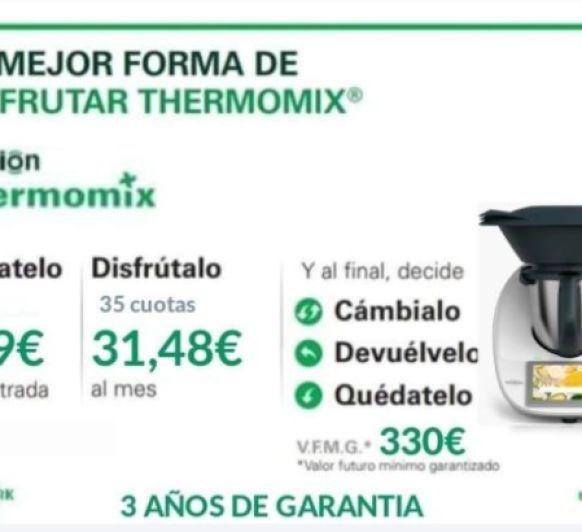 TU Thermomix® TM6 POR TAN SOLO 1€ AL DÍA