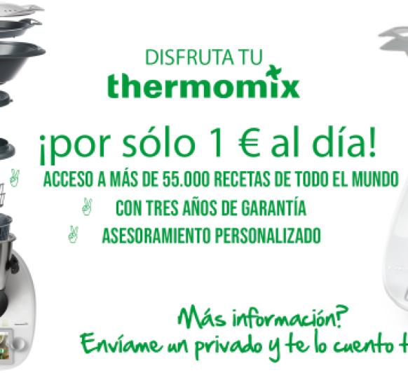 ¿Tienes 1 euro? ¡Tienes un Thermomix® TM6!