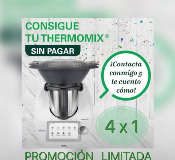 thermomix sin coste económico!!!