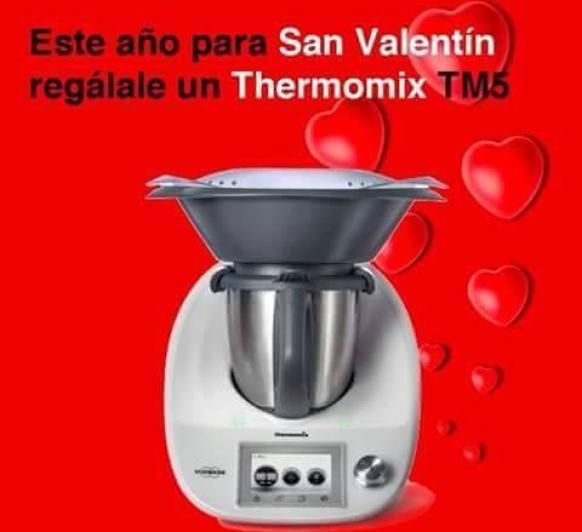 GRAN REGALO PARA LOS ENAMORADOS'' EL Thermomix® TM5''