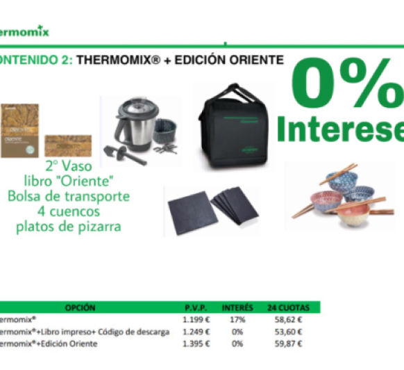 Thermomix® Oriente 0%