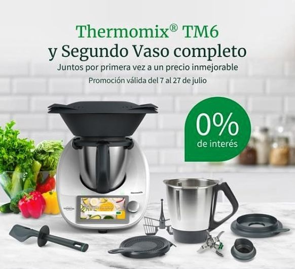 Oportunidad! 0% interés y doble vaso! Thermomix® Cádiz