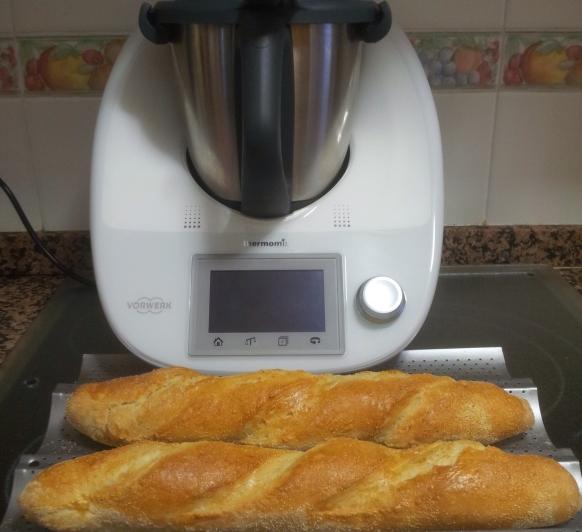 Barras de pan con Thermomix®