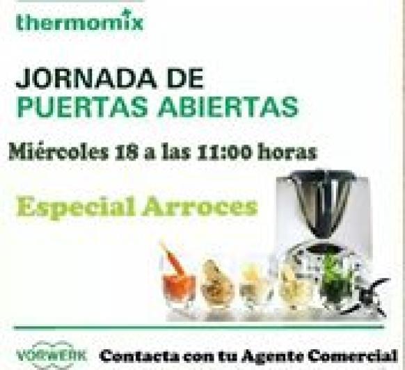 TALLER DE ARROCES EN Thermomix® ALGECIRAS