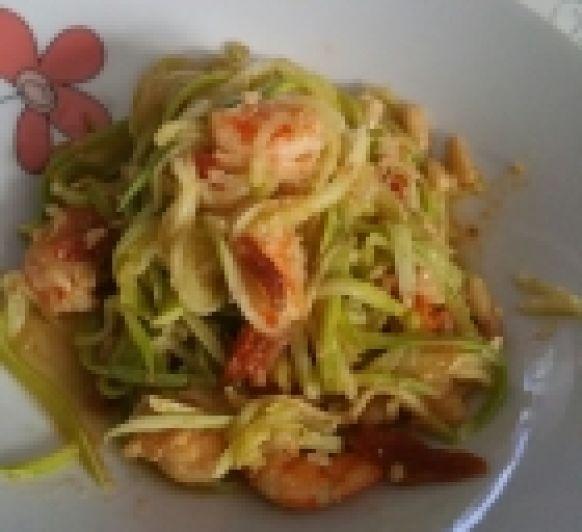 Espagueti de calabacines