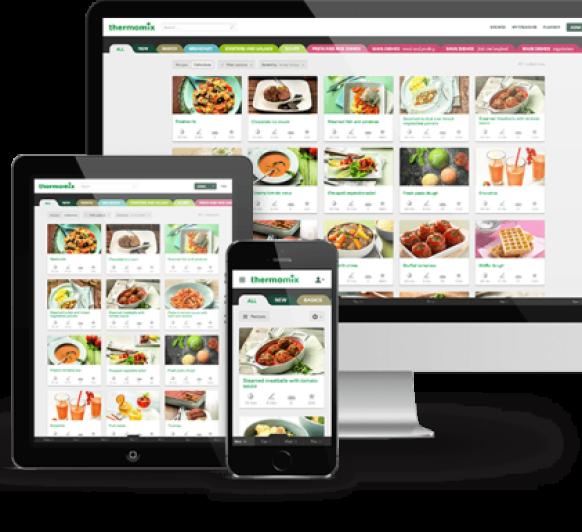 Plataforma oficial de recetas