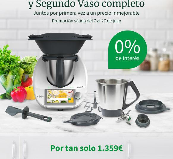 Thermomix® TM6 + SEGUNDO VASO COMPLETO